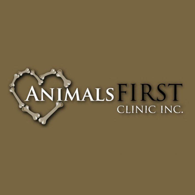 animals first clinic logo animal hospital grande prairie alberta 768x768
